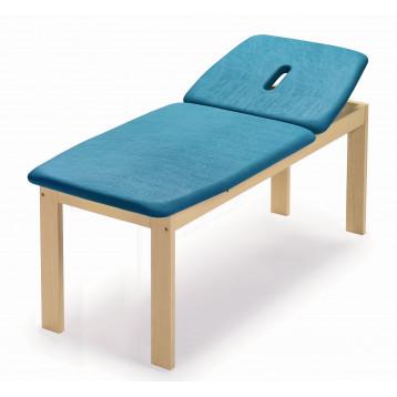 Lettino per trattamenti in legno di faggio due sezioni piano largo - New ramin large