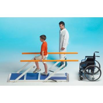 Parallela per riabilitazione fisioterapica lunga 2 metri per bambini