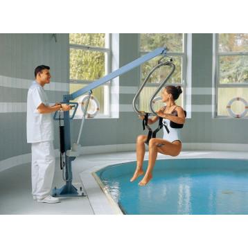 Sollevapersone elettrico per piscinain acciaio inox -Liftpool e maxi