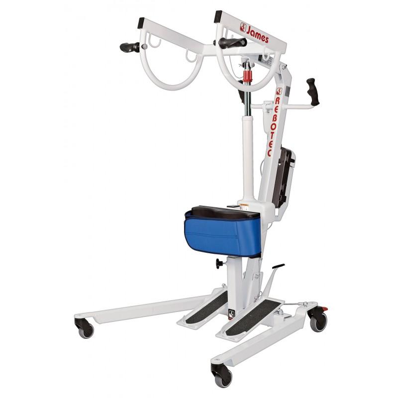Sollevapersone elettrico per la verticalizzazione del paziente - James