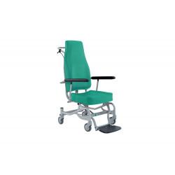 Sedia per il trasporto degenti in ambito ospedaliero