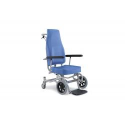 Sedia per il trasporto ammalati in ambito ospedaliero