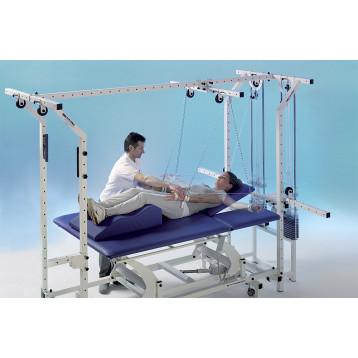 Stazione di riabilitazione motoria - ampia gamma di esercizi attivi in varie posture