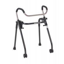Deambulatore pieghevole e regolabile - walk on roll