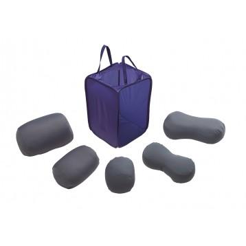 Kit posturale - 5 cuscini per una buona postura della persona - ideale nella prevenzione di piaghe