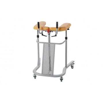 Deambulatore in acciaio verniciato con due maniglie regolabili - Walker lift