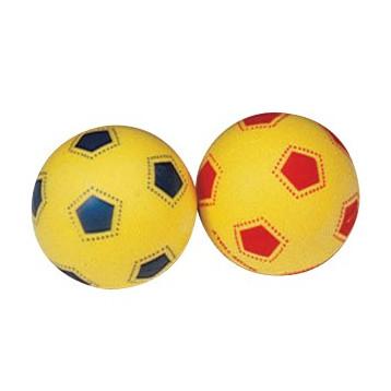 Palla in spugna ideale per esercizi di potenziamento muscolare e ginnastica a terra