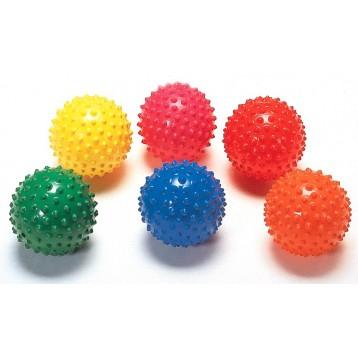 Easy grip palle con diametro di 12 cm adatte per esercitare la presa e stimolare la percettività
