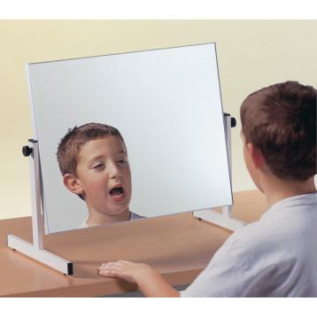 Specchio da tavolo per esercizi di logopedia - Logomirror
