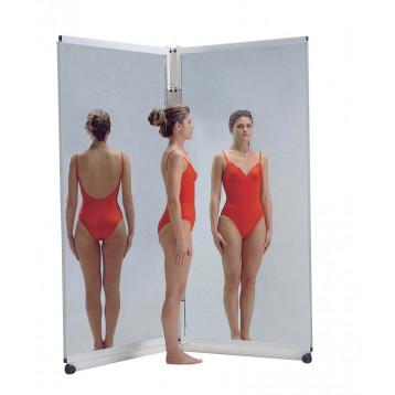 Twin mirror consente di visualizzare la postura globale del paziente