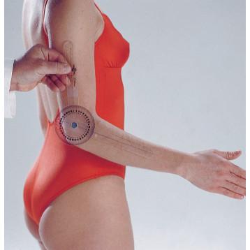 Goniometro - Strumento per l'analisi posturale e la misurazione della flessibilità delle giunture