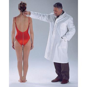 Filo a piombo - strumento che permette di misurare le deviazioni posturali