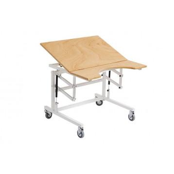 Tavolo occupazionale conpiano a due sezioni