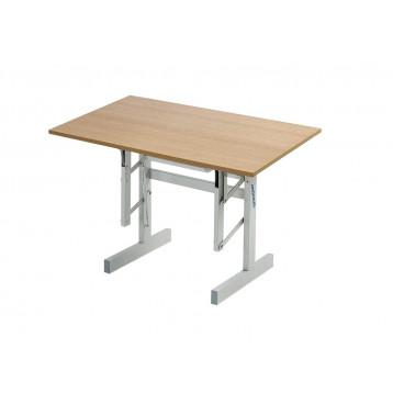 Tavolo ergonomico con un piano inclinabile fino a 90°