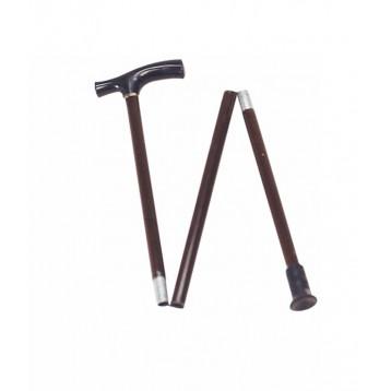 Bastone pieghevole in alluminio regolabile in altezza