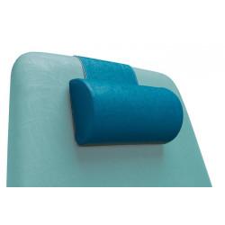 Cuscino cervicale cilindrico per lettini da visita