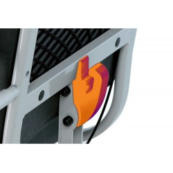 Kit supporto porta bombola per carrozzelle modelli ISCHIA cod. AP00002 o ELBAcod. AP00001