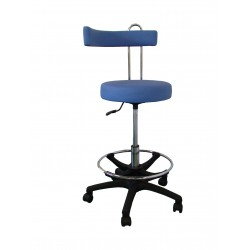 Sedia con schienale registrabile