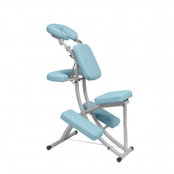 Sedia per terapia medica in alluminio pieghevole