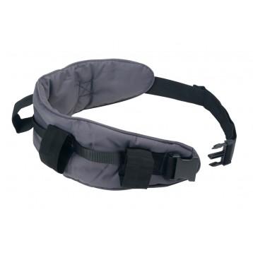 Corsetto utilizzato durante esercizi di deambulazione assistita
