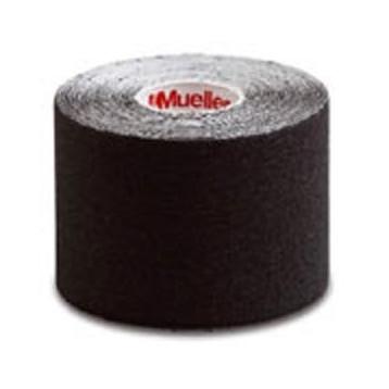 Bende adesive elastiche per kinesiologia (nero) - Tape - 6 Pezzi