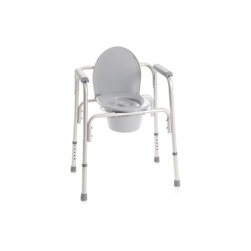 Sedia comoda per WC e doccia 4 in 1 Ortopedia Sanitaria Shop