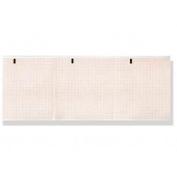 PACCO CARTA TERMICA ECG - griglia arancione - 112 x 100 mm