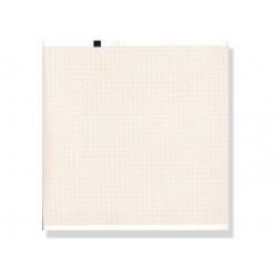 PACCO CARTA TERMICA ECG - griglia arancione - 210 x 280 mm