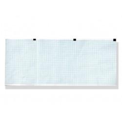 PACCO CARTA TERMICA ECG - griglia blu - 120 x 100 mm