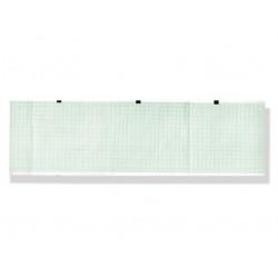PACCO CARTA TERMICA ECG - griglia verde - 90 x 90 mm