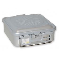 CONTAINER STANDARD 285 x 280 x h 100 mm - 1 filtro - n.p. - grigio