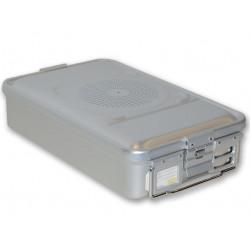 CONTAINER STANDARD 465 x 280 x h 100 mm - 1 filtro - n.p. - grigio