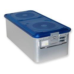 CONTAINER STANDARD 580 x 280 x h 200 mm - 4 filtri - perf. - blu