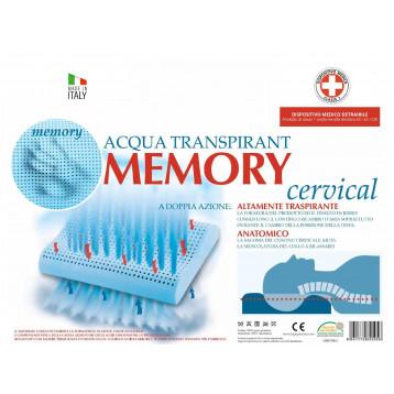 Cuscino Ad Acqua Per Cervicale.Cuscino Cervicale Memory Acqua Traspirant Bigix Pharma