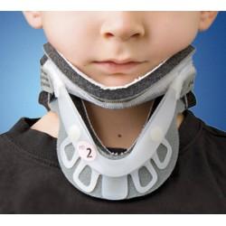 collare cervicale pediatrico bivalve