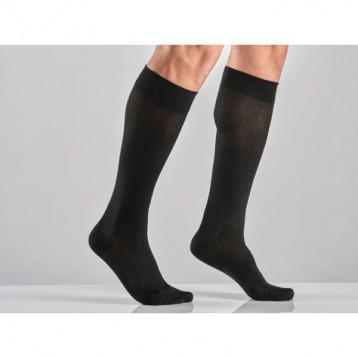 scarpe autunnali Guantity limitata più vicino a Calza A Gambaletto Cotone Unisex A Media Compressione - Colore Nero