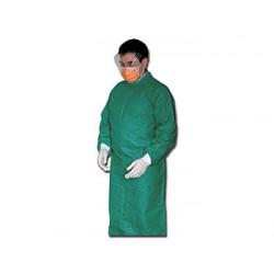 CAMICE CHIRURGICO MONOUSO - non sterile - verde - conf. 10 pz.