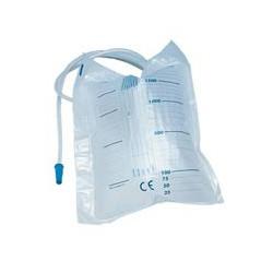 Sacche urina da letto da 2 litri senza scarico (tubo 130 cm)