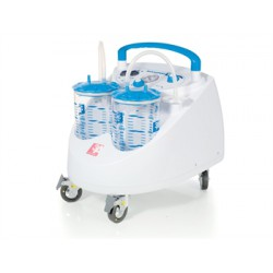 ASPIRATORE MAXI ASPEED 60 l 2 vasi x2 l - con interruttore a pedale - 230V