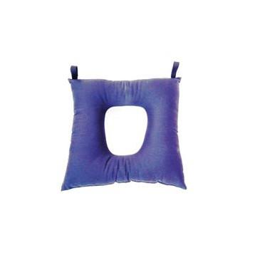 Cuscino con foro centrale in fibra cava siliconata