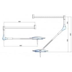LAMPADA A LED PENTALED 12 - da soffitto