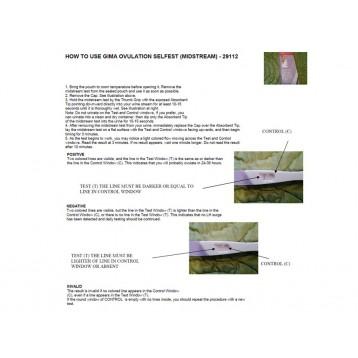 TEST OVULAZIONE - autocontrollo - midstream - conf. 5 pz.