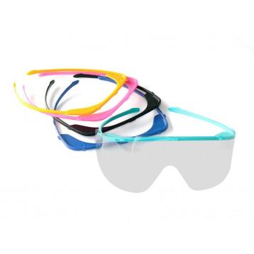 Occhiali antiappannanti protettivi colorati - 20 pezzi