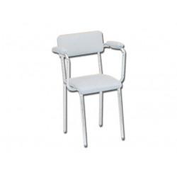 SEDIA - seduta imbottita con braccioli