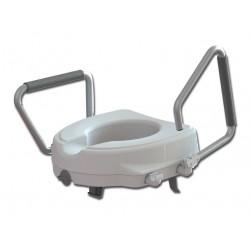 RIALZO WC - con braccioli reclinabili - 12.5 cm