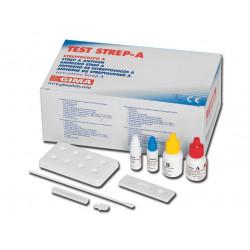 TEST STREP-A - streptococco - cassetta - conf. 20 pz.