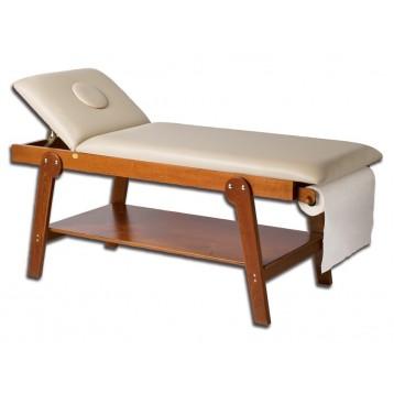 Lettino Massaggio In Legno.Lettino Per Massaggi In Legno Firenze Con Foro Naso Bocca Ciliegia