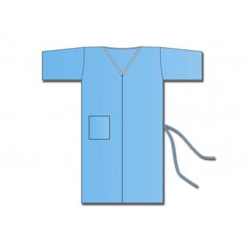 Kimono monouso blu - 100 pezzi