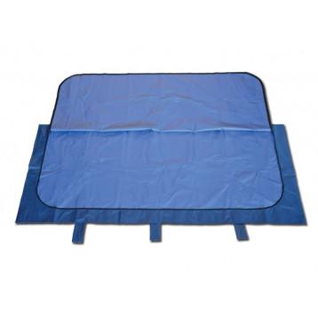 TELO SALMA VINILE-NYLON - blu - portata 150 kg