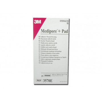 MEDIPORE 3M + PAD - 10 x 20 cm